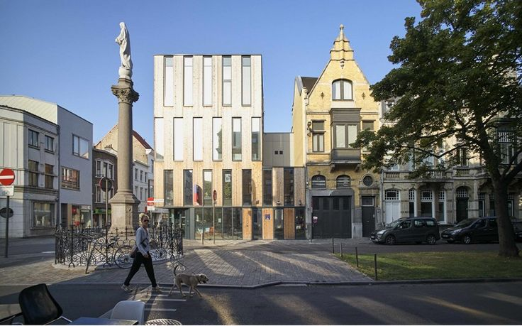 JDS architects completes flexible antwerp police station in belgium