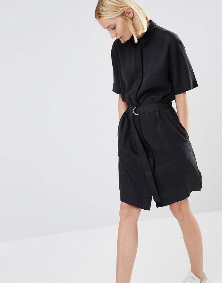 Bild 1 von ADPT – Hemdkleid mit D-Ring-Gürtel
