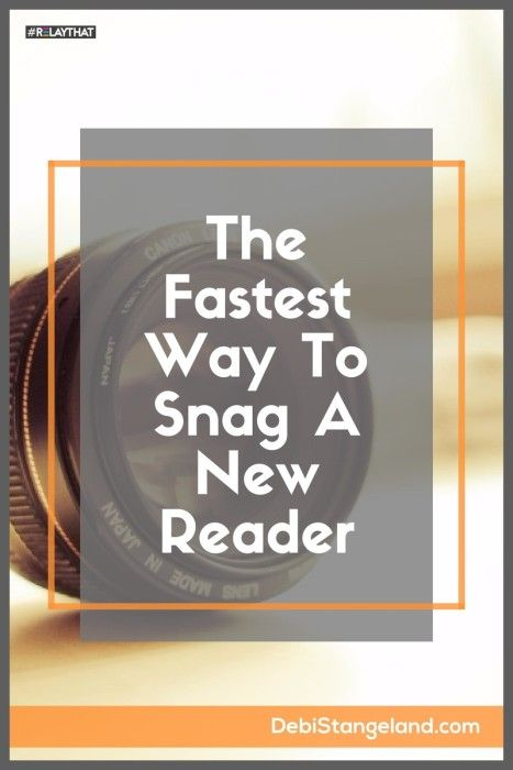 The Absolute Fastest Way To Snag A New Reader ★ You are the fastest way to snag a new reader. But you can sabotage your own success with a bad headshot. Learn how to grab a visitor with the right kind of photo. ★ Learn HOW To Blog ★