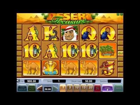 Игровой автомат Desert Treasure доступен бесплатно пользователям Вулкан казино