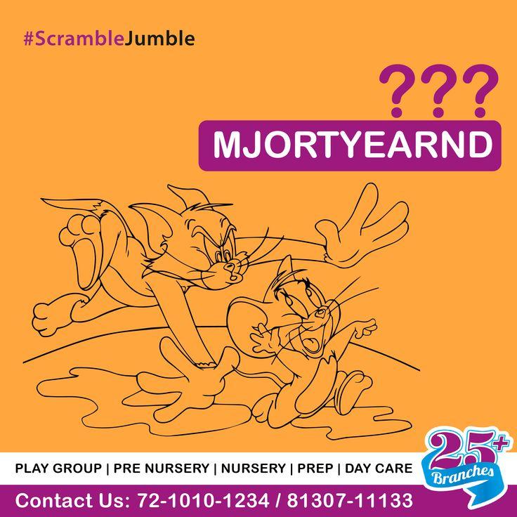 #scramblejumble