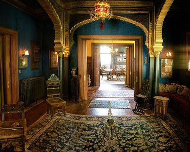Rockcliffe Mansion Hannibal | 1898-1900, home of the John J. Cruikshank, Jr. family, Hannibal, MO