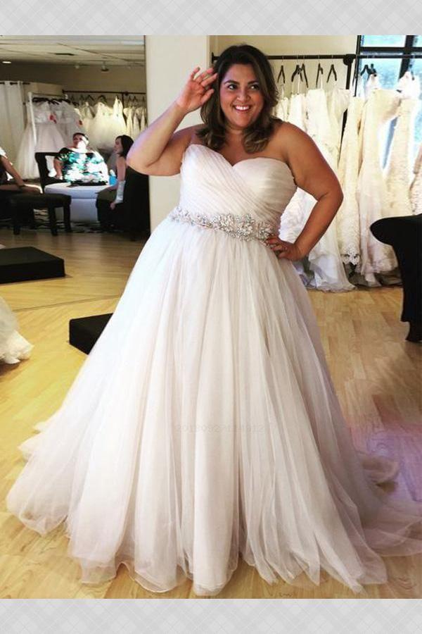 f6ebee68ff4 Custom Made Great Wedding Dress For Cheap