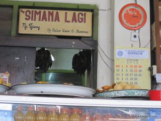 pisang goreng Simanalagi Bandung, sejak 1948