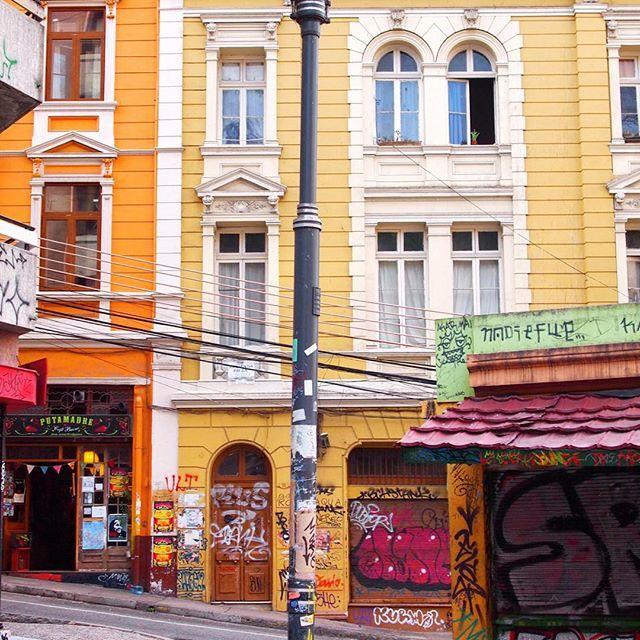 Mantente en pie siempre Valparaíso....ich liebe dich sehr!