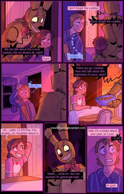 Springtrap and Deliah (Page 77) by GraWolfQuinn