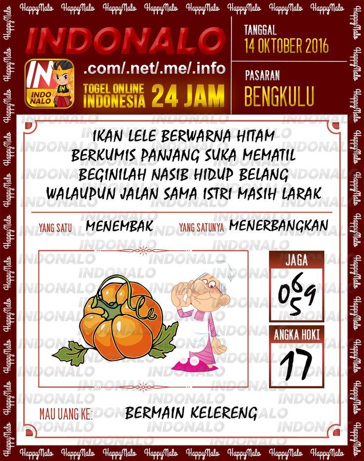 Agen SDSB Togel Wap Online Live Draw 4D Indonalo Bengkulu 7 Oktober 2016
