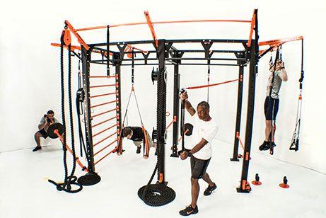 Functional Training Station Aka Adult Jungle Gym Gym Interior Home Gym Design Jungle Gym