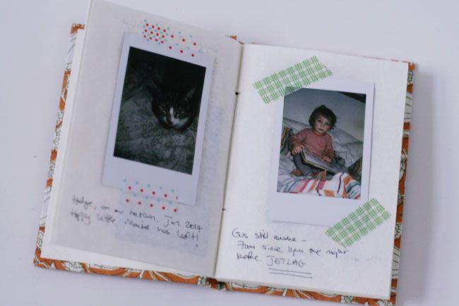 Scrapbooking Instax Photos | Fujifilm Instax Mini 7s | UK fashion blog | Stylonylon