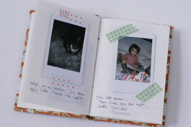 Scrapbooking Instax Photos | Fujifilm Instax Mini 7s | UK fashion blog | Stylonylon
