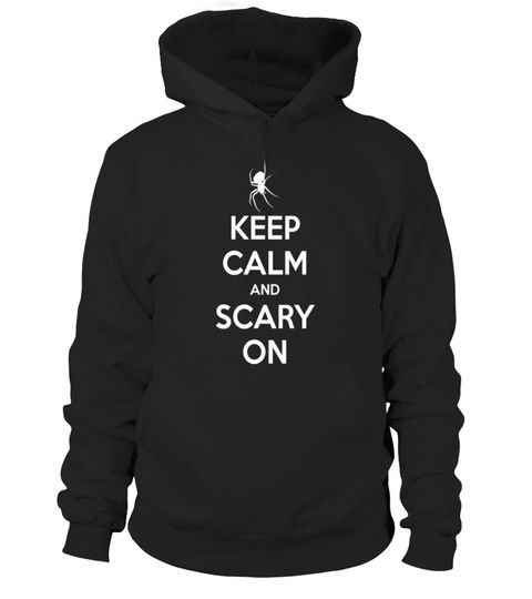 """# Keep Calm And Scary On Spider Halloween T Shirt .  Special Offer, not available in shops      Comes in a variety of styles and colours      Buy yours now before it is too late!      Secured payment via Visa / Mastercard / Amex / PayPal      How to place an order            Choose the model from the drop-down menu      Click on """"Buy it now""""      Choose the size and the quantity      Add your delivery address and bank details      And that's it!      Tags: Trick or treat your way to lots of…"""