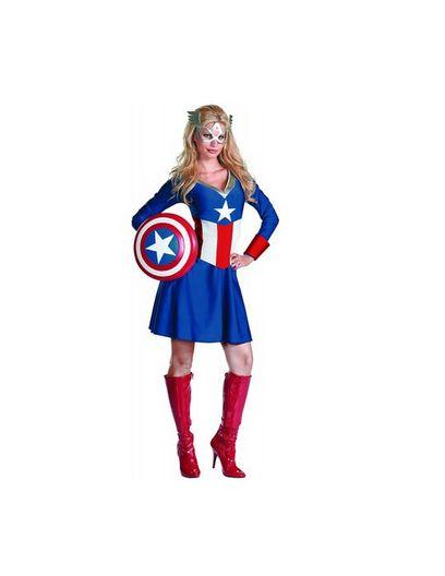disguise unisex adult classic american dream redwhiteblue medium 8 - Classic Womens Halloween Costumes