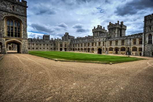 Windsor Castle courtyard #BTPArchitecturePro – +BTP Architecture Pro . owned ...