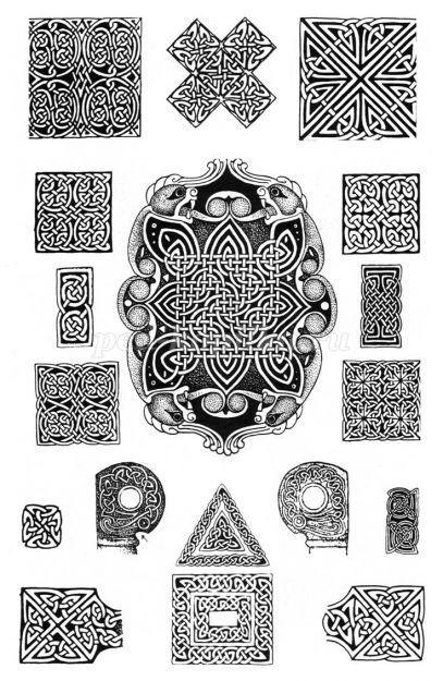 Как нарисовать кельтский орнамент