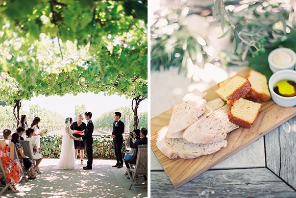 Olive grove wedding - wedding food #rusticweddinginspiration