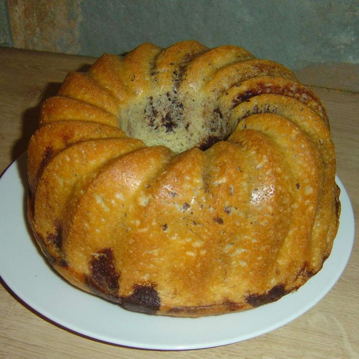 Schneller Marmorkuchen (saftig und fluffig)