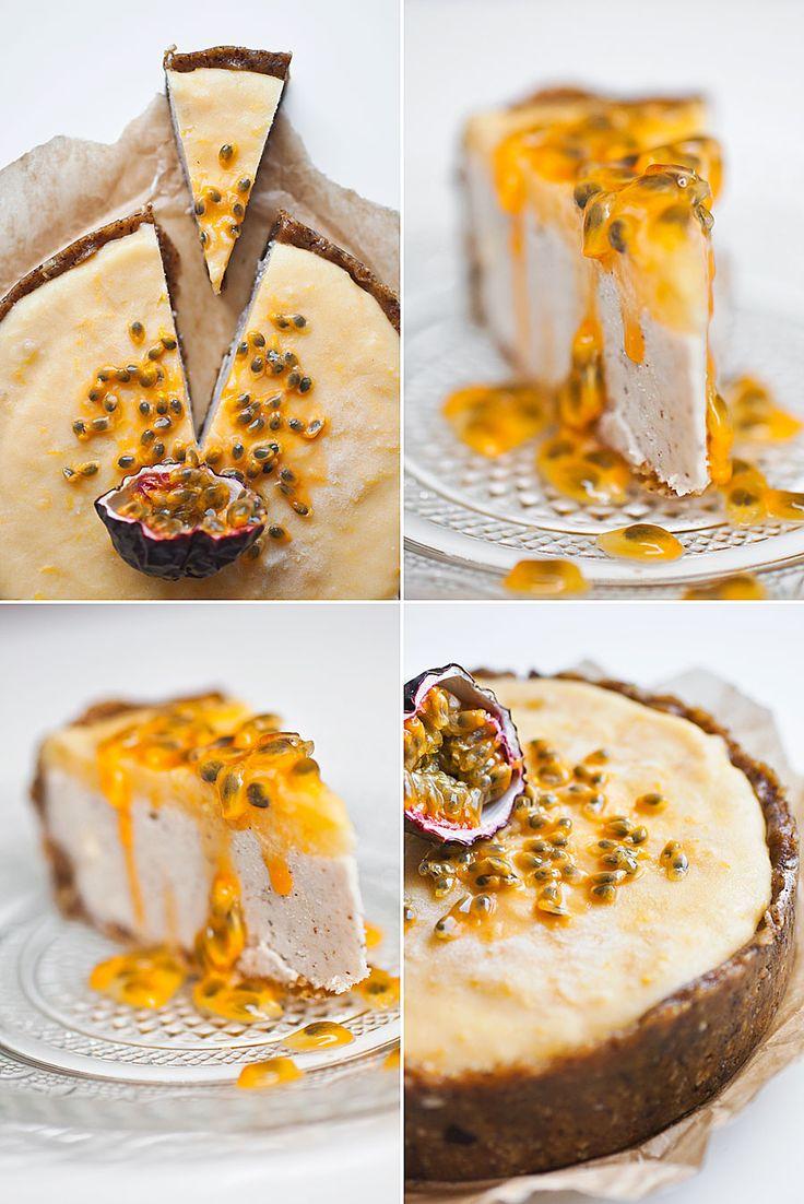 Fräsch citroncheesecake (kan göras raw)