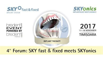 Medicina in Timisoara: 4th Forum: SKY fast & fixed meets SKYonics
