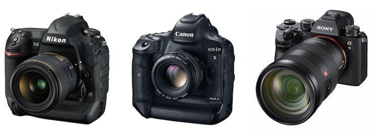 Le ammiraglie Nikon D5, Canon EOS 1D X Mark II e la nuova Sony A9 messe a confronto. Chi svetterà sulle altre? Venitelo a scoprire.