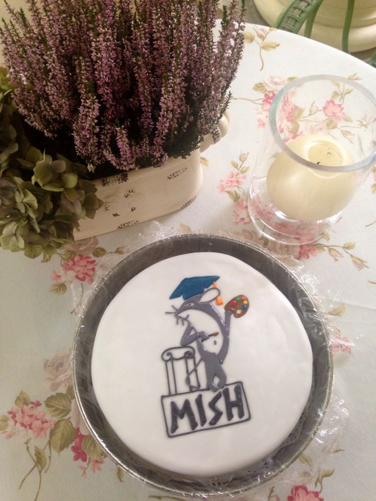 Cake for a girl who became a student at the Faculty of MISH