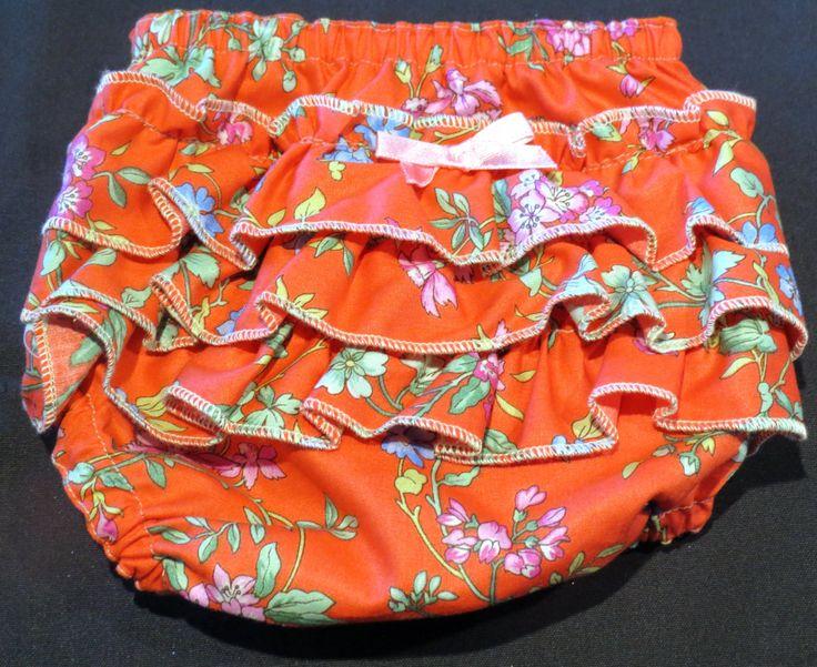 Ruffle Bottom Bloomer, Size 000 by PrettyLittlePeachs on Etsy