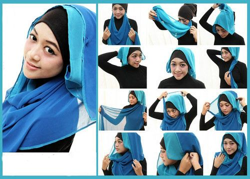 8 Hijab Tutorial Pictures  large 2
