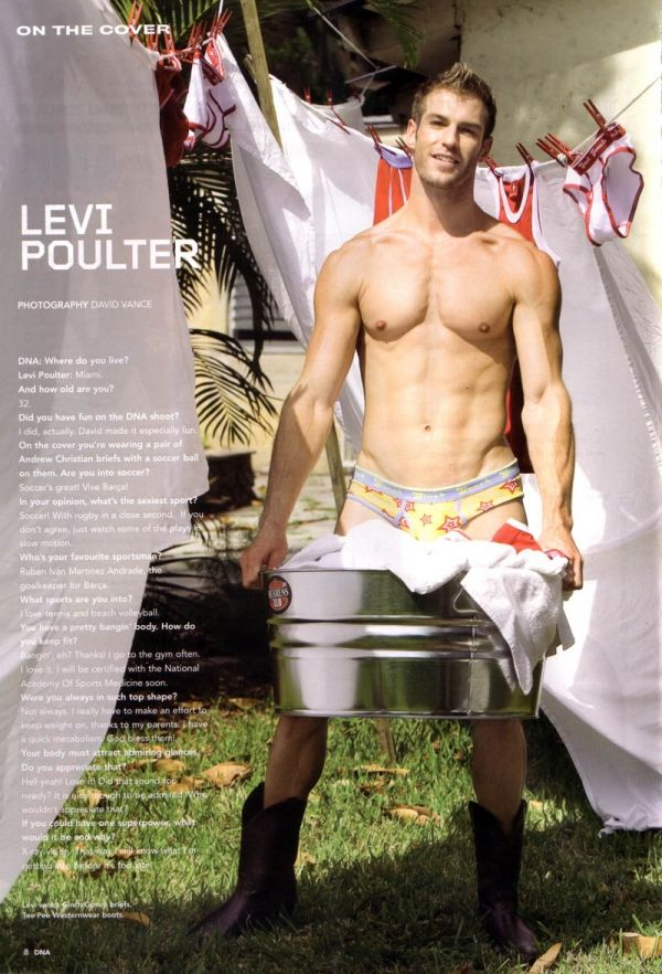 Fashion 4 men: Levi Poulter