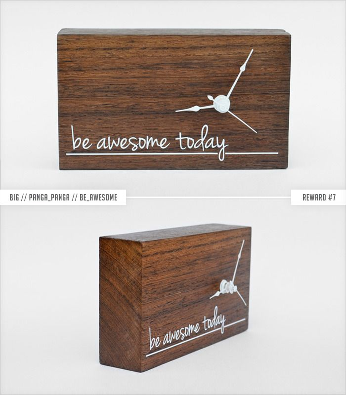 WoodTime: Simple, modern & minimal bare wood clocks. by Tomasz Wojnar — Kickstarter
