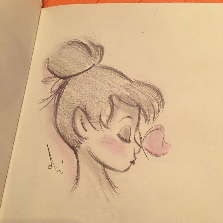 #fast sketch : : Snabchat @dian1992d – #Acryl #Bleistift #Buntstift #dian1992d