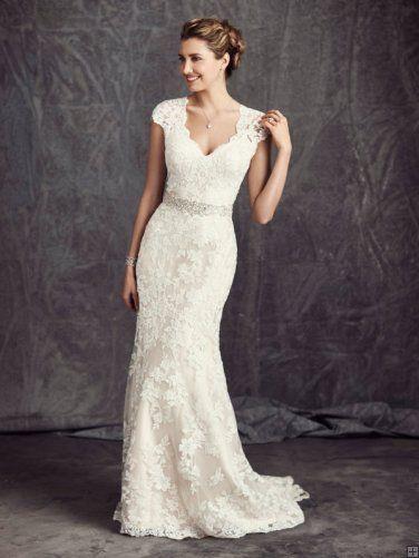 Beautiful lace wedding dress 2017 #wedding # wedding dress