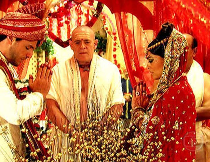 La caminho das Indias , casamento