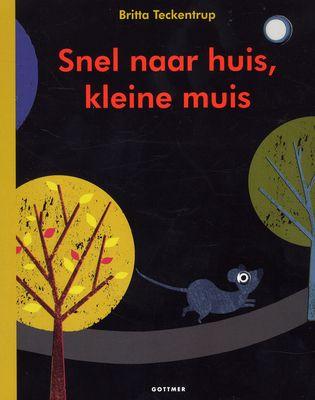 Kleine muis wil naar huis. Daarvoor moet hij door het donkere bos dat vol zit met wilde dieren. Maar het is zó donker dat hij niet ziet welke dieren hij onderweg tegenkomt. Wil jij kleine muis helpen?
