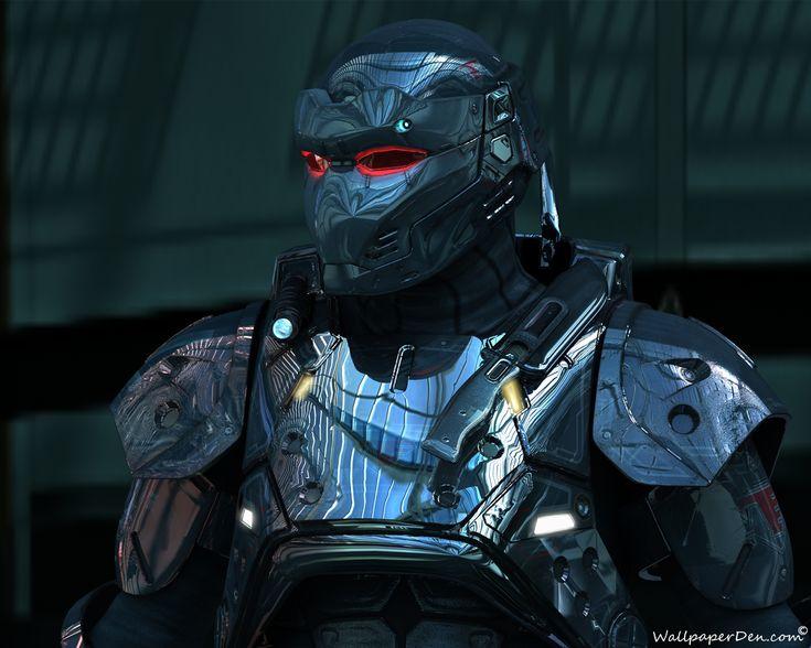 Sci Fi - Warrior  - Robot - Sci Fi Wallpaper