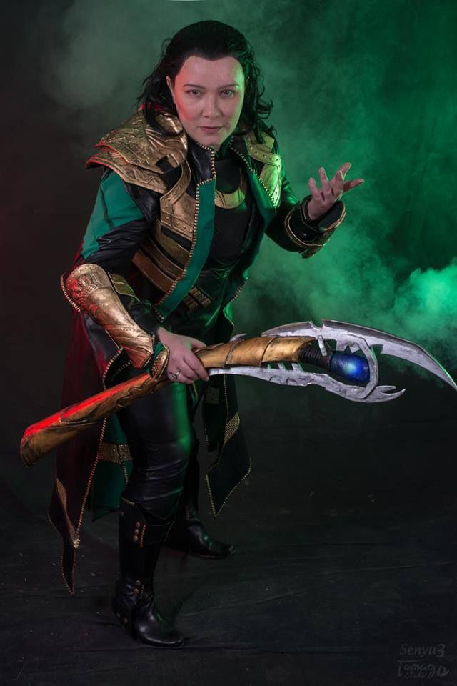 Loki cosplay by Ephiria Costumes Photo: Tamago Photographie