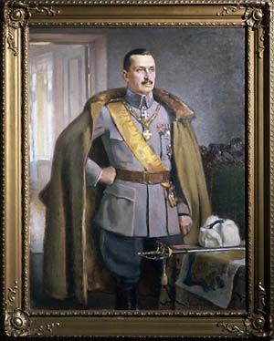 Eero Järnefelt (1863-1937), 1922 Portrait of Carl Gustaf Emil Mannerheim (1867-1951) The sixth president of Finland 1944-1946.