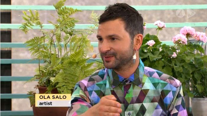 Ola Salo in TV4 Nyhetsmorgon, 30/07/2014