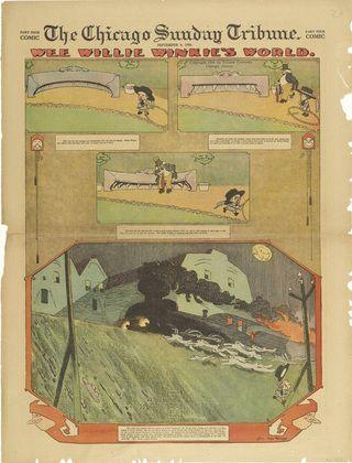 Lyonel Feininger. Wee Willie Winkie's World fromThe Chicago Sunday Tribune. September 9, 1906