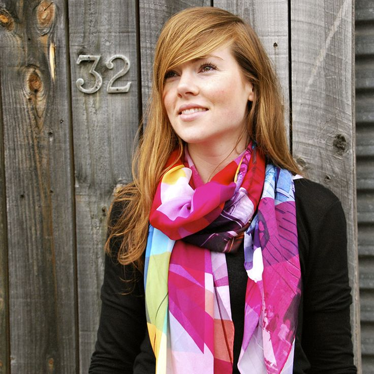 The new Melbourne scarf is officially on sale! www.squeakdesign.com