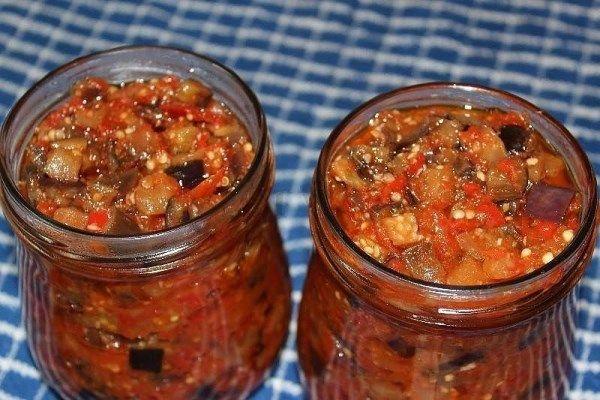 Баклажаны по-грузински | Домашняя кухня
