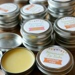 Homemade Lip Balm Recipe & Printable Labels {DIY Gift}
