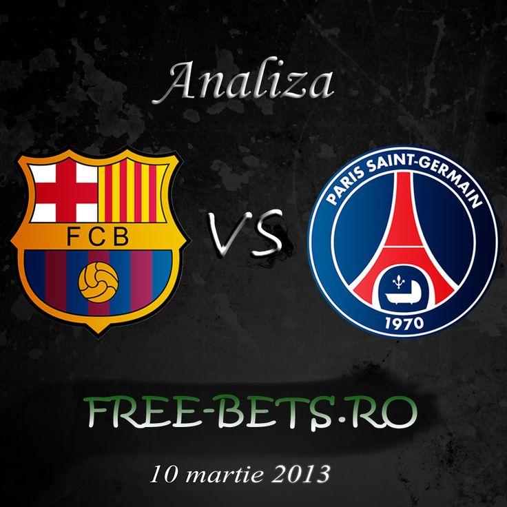 Analiza Barcelona vs PSG 10 aprilie 2013