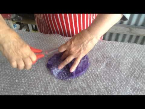 How to Make a Felted Flower - YouTube