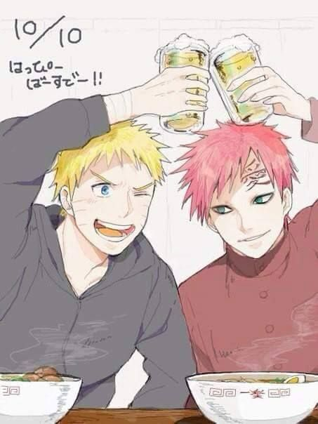 I know that Sasuke is Naruto's best friend, but I don't understand why! Gaara is a real friend for him, loyal and brave. He fights to protect him. Sasuke is just a selfish and personally i hate him XD I like Naruto but sometimes i don't understand what he does.
