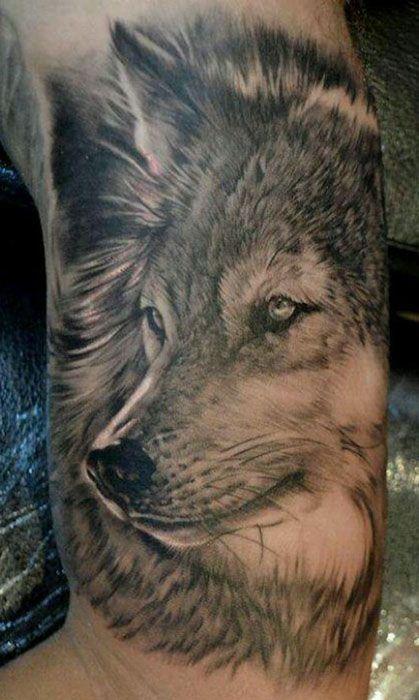 47 best Mejores Tatuajes de Lobos images on Pinterest Best tattoos