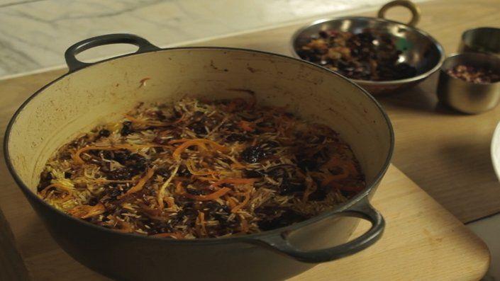 Tried very nice Jewelled Rice - from Reza Mahammad