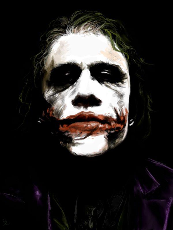 Joker painting by Aquila--Audax