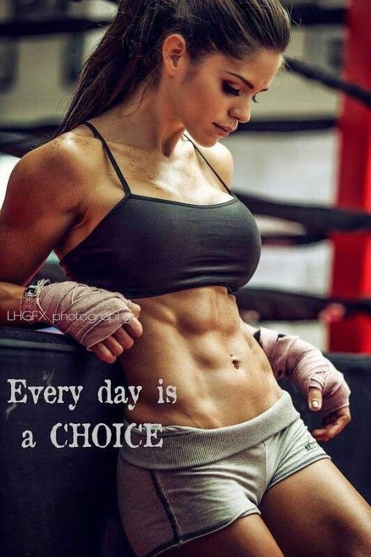 -everyday is a choice #FEMALEFITNESSMODELS
