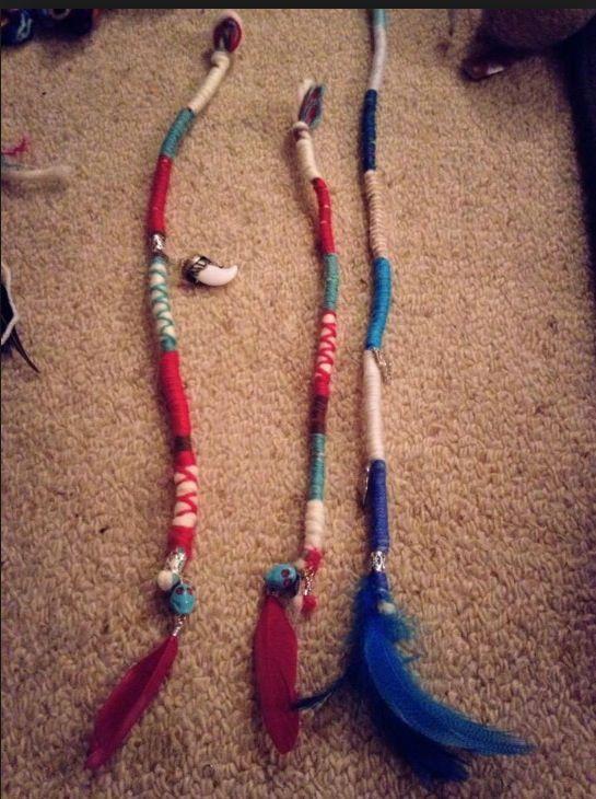 Hair wrap strings