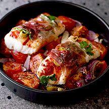 Mediterranean Baked Fish