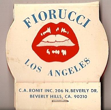 Matches Fiorucci